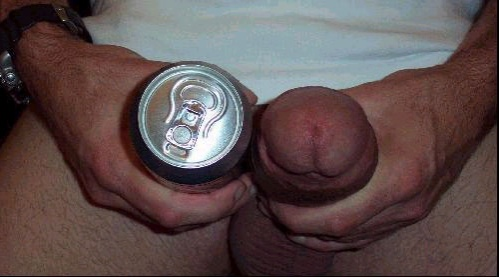 cock Beer can thick